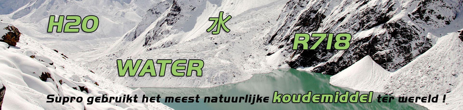 Supro gebruikt het meest natuurlijke koudemiddel ter wereld