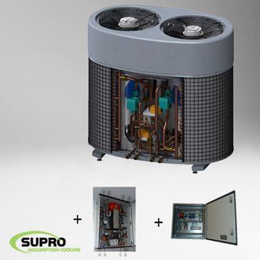 Afbeeldingen van 5 kW SolabChiller set - glycol set - PLC
