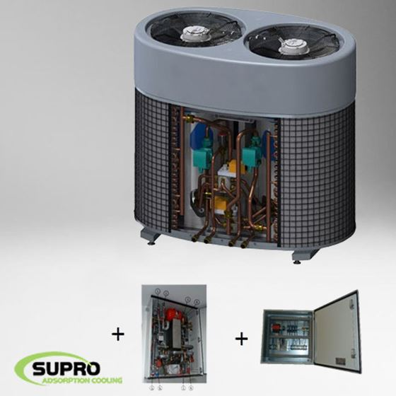 Afbeelding van 5 kW SolabChiller set - glycol set - PLC