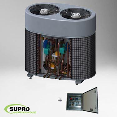Afbeeldingen van 5 kW SolabChiller set - PLC