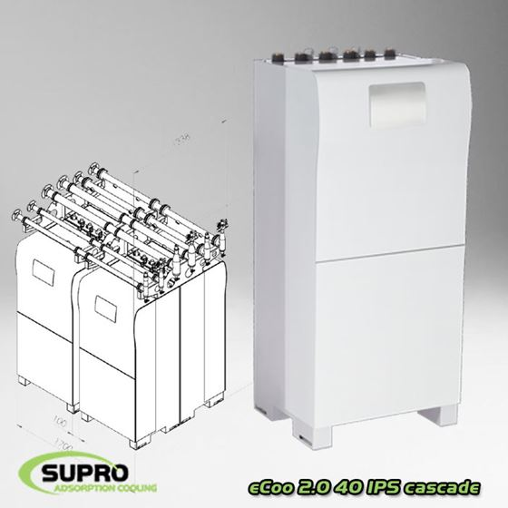 Afbeelding van eCoo 2.0 40 IPS adsorptie koelmachine