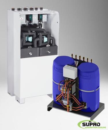 Afbeelding voor categorie Adsorptie koelmachines